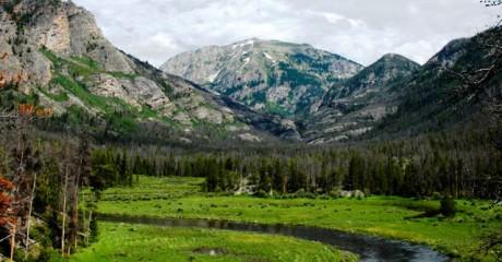 Camp Areté, Colorado Mountain Scenery